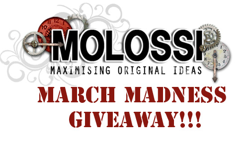 Cathi's Molossi March Madness Giveaway