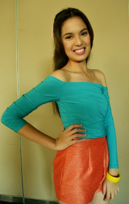 Michelle Vito as Megan Mendez in Aryana