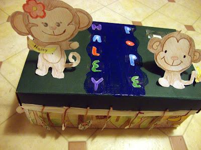 Monkey Themed Buddy Box