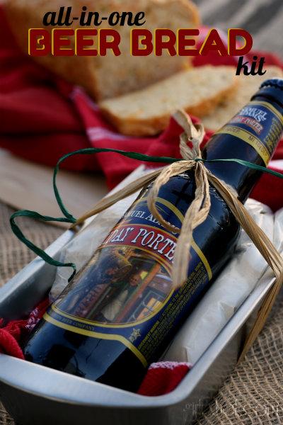 All-in-One Beer Bread Kit + Apple Cheddar Beer Bread