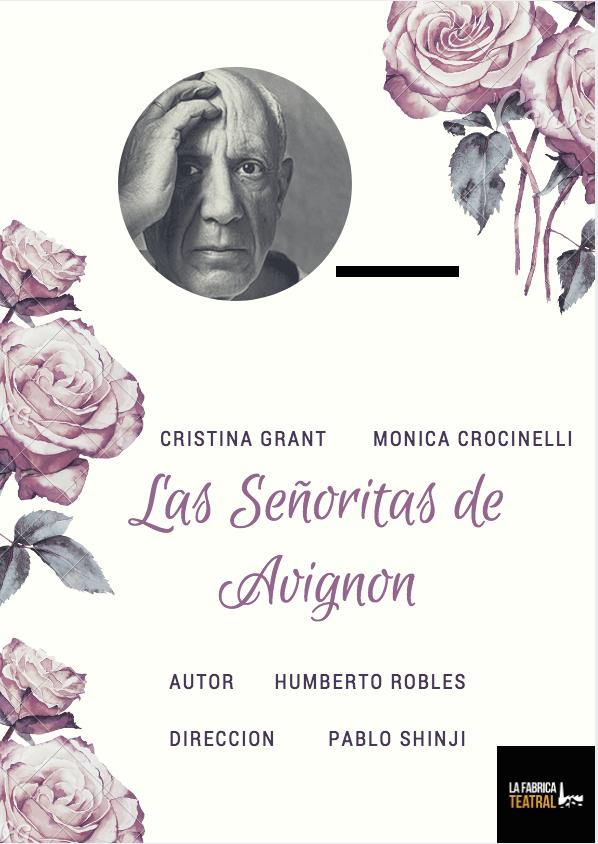 LAS SEÑORITAS DE AVIGNON. Muestra de Clínica teatral 2017