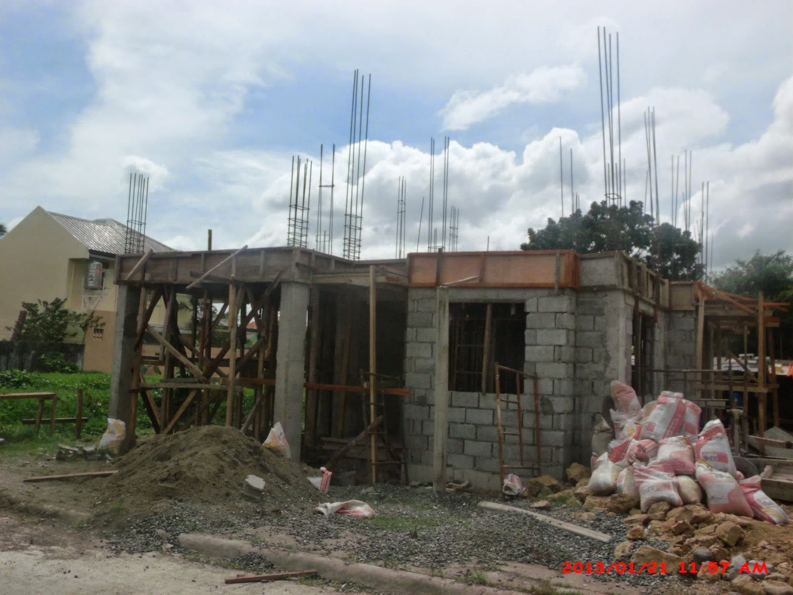 Two storey 2 bedroom home fitting in an 80 square meter 8 meters x - Two Storey Home Designs Iloilo Three Bedroom House Plans With Garage Iloilo House Model Designs Iloilo