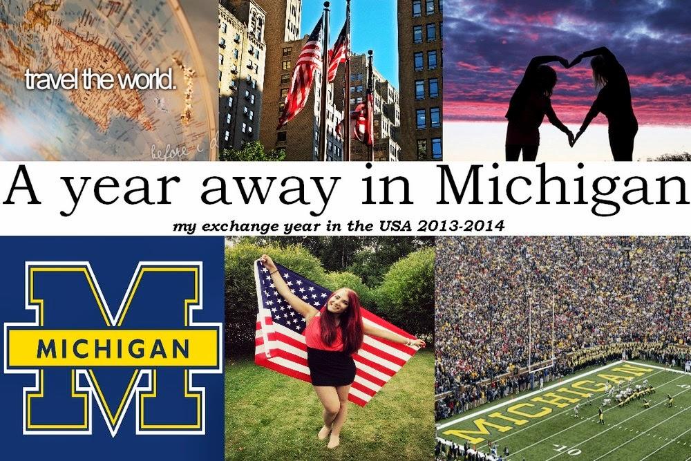 A Year Away In Michigan