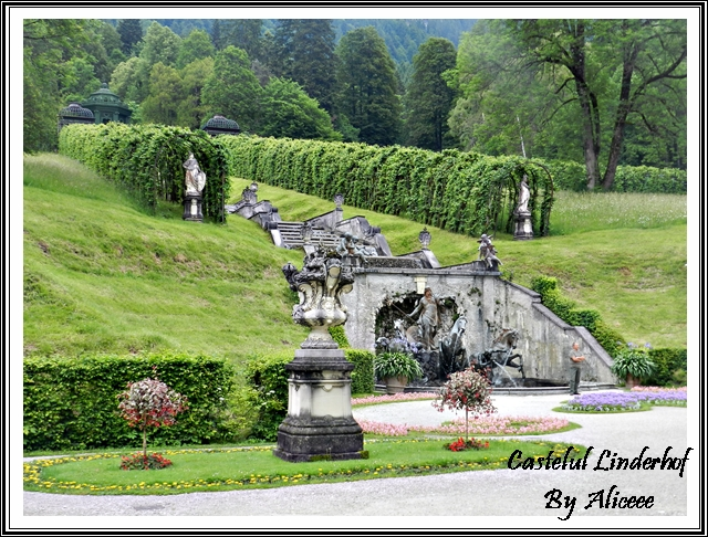 cascada-gradina-castel-linderhof