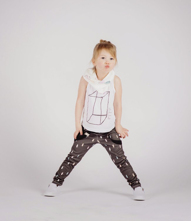 LOT801 SS15 kidswear collection + LB Brand top