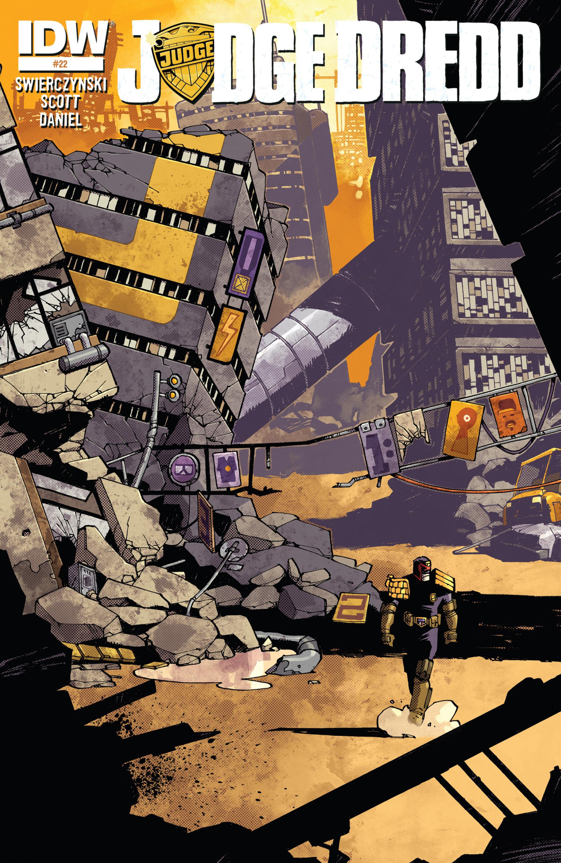 Read online Judge Dredd (2012) comic -  Issue #22 - 1