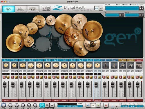 FXpansion Zildjian Digital Vaults