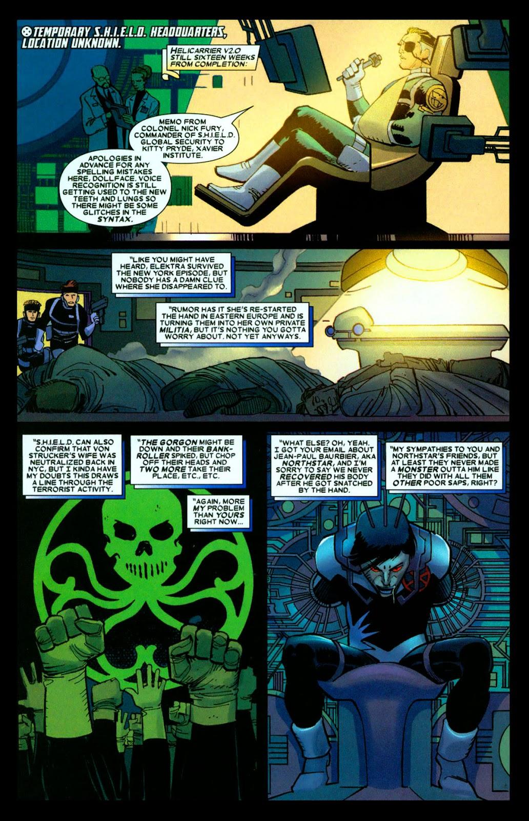 Read online Wolverine (2003) comic -  Issue #31 - 19