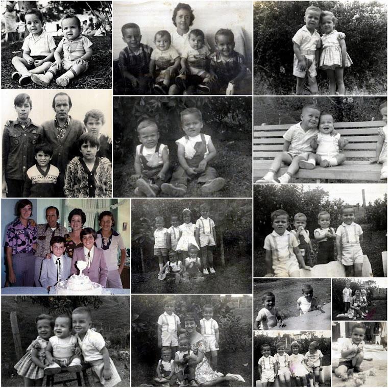 La Niñez de los primos Ossa Lenis