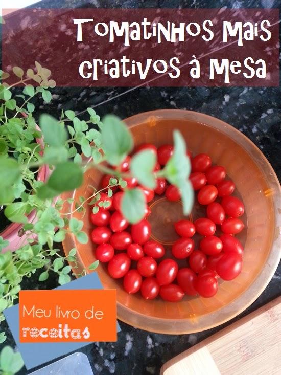 Espetinho de tomatinho de entrada