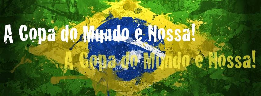 Capa para facebook com tema Copa do Mundo