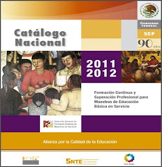 Catálogo Nacional de Cursos 2011-2012 [Descargalo]