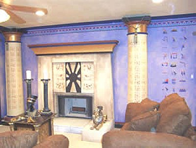 Decorating theme bedroomsMaries Manor Egyptian theme bedroom