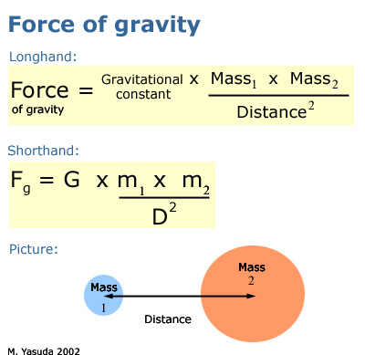 gravitational force Read chapter effects of low gravitational force on plants: panel  on gravity.