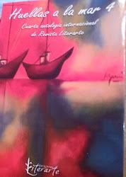 Huellas a la mar-Antología de revista Literarte