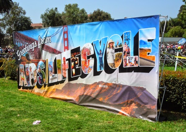 Greetings from AIDS LifeCycle
