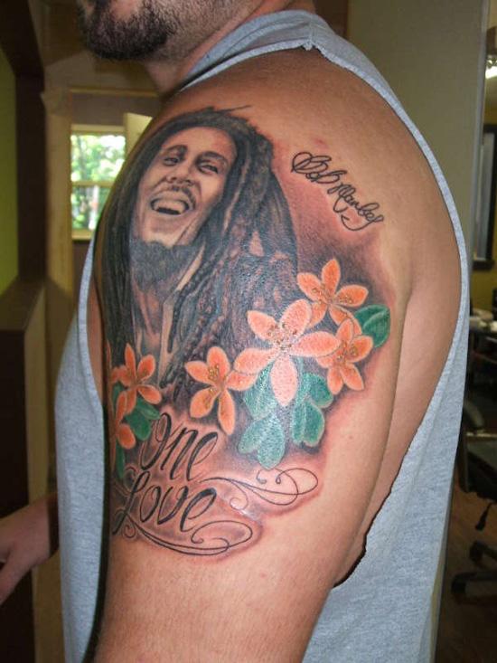 tatuagens bob marley