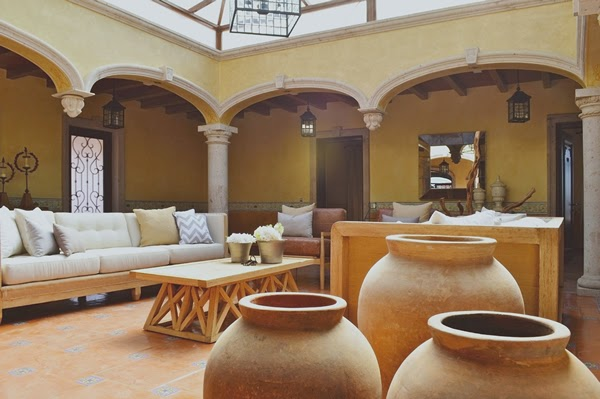 Heteruf designs decoracion estilo mexicano contempor neo Casas estilo mexicano contemporaneo fotos