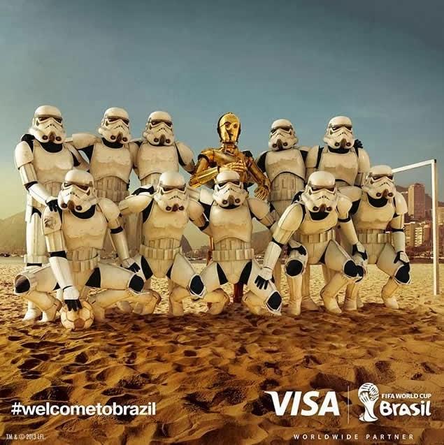 Fusión Digital VE - Publicidad Brasil 2014 Star Wars