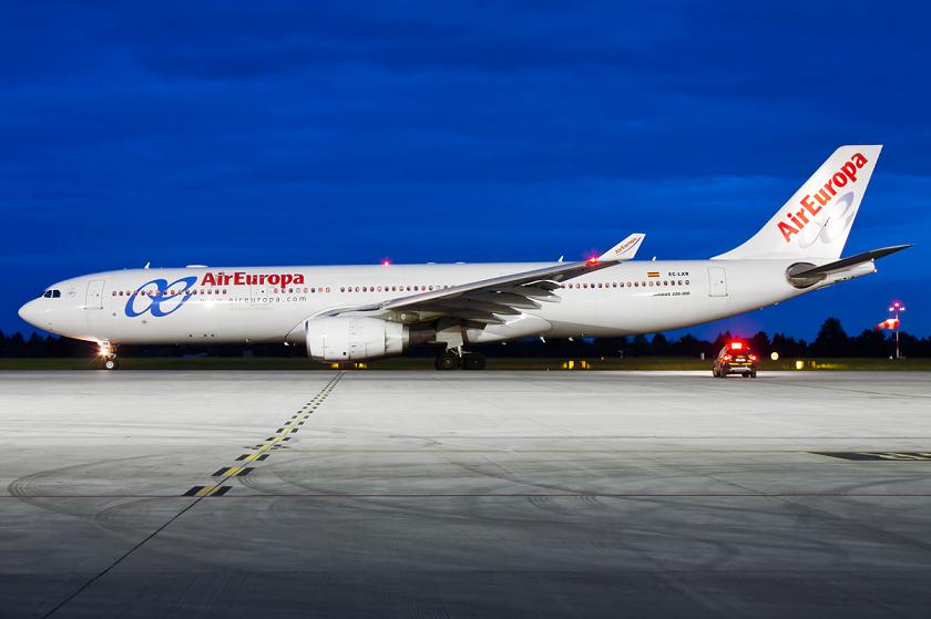 Air Europa recibe el tercer Airbus A330-300 con todas sus plazas business