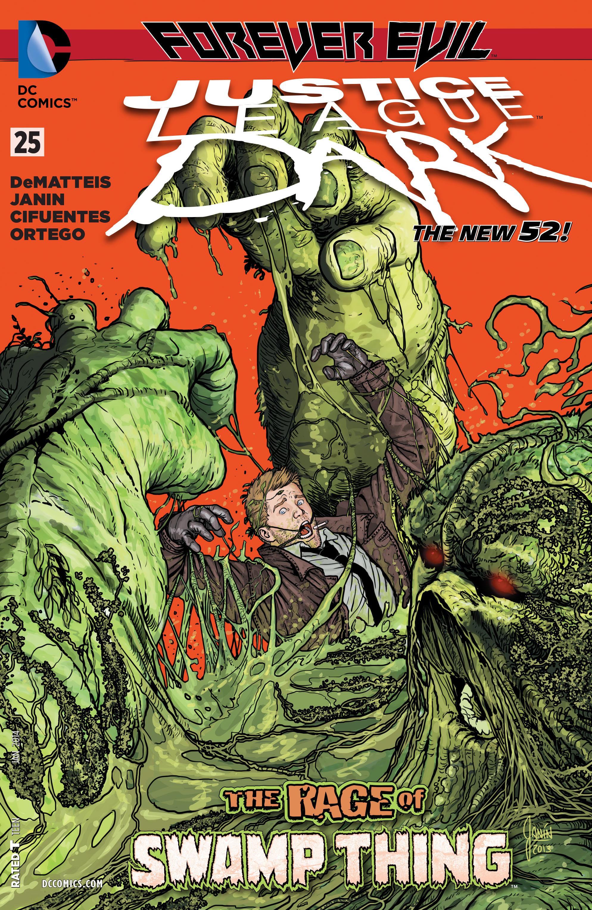 Justice League Dark 25 Page 1