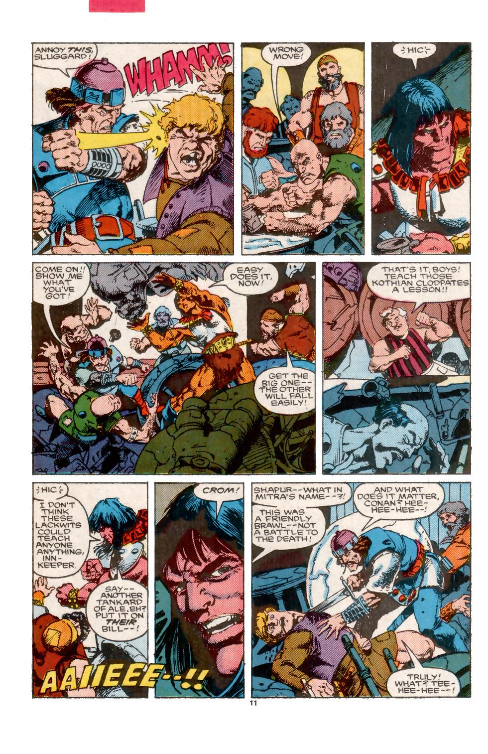 Conan the Barbarian (1970) Issue #202 #214 - English 12