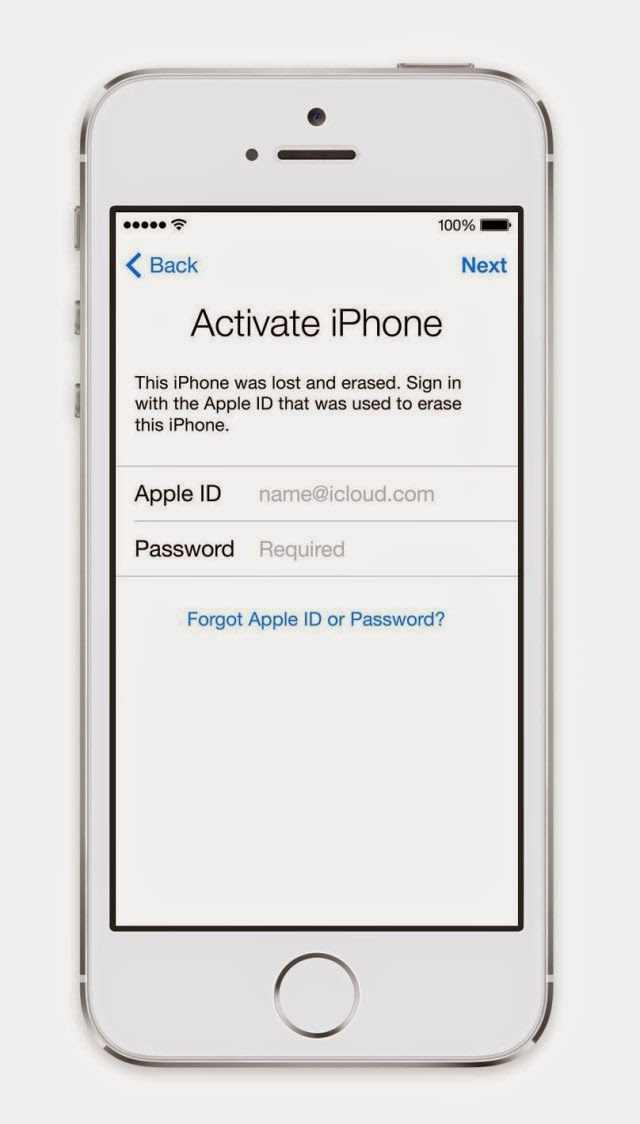 iCloud Activation Lock Removal bypass service