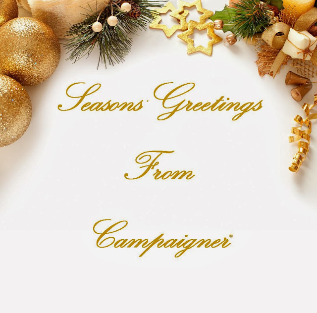 Campaigner, Email Marketing, Holiday greetings