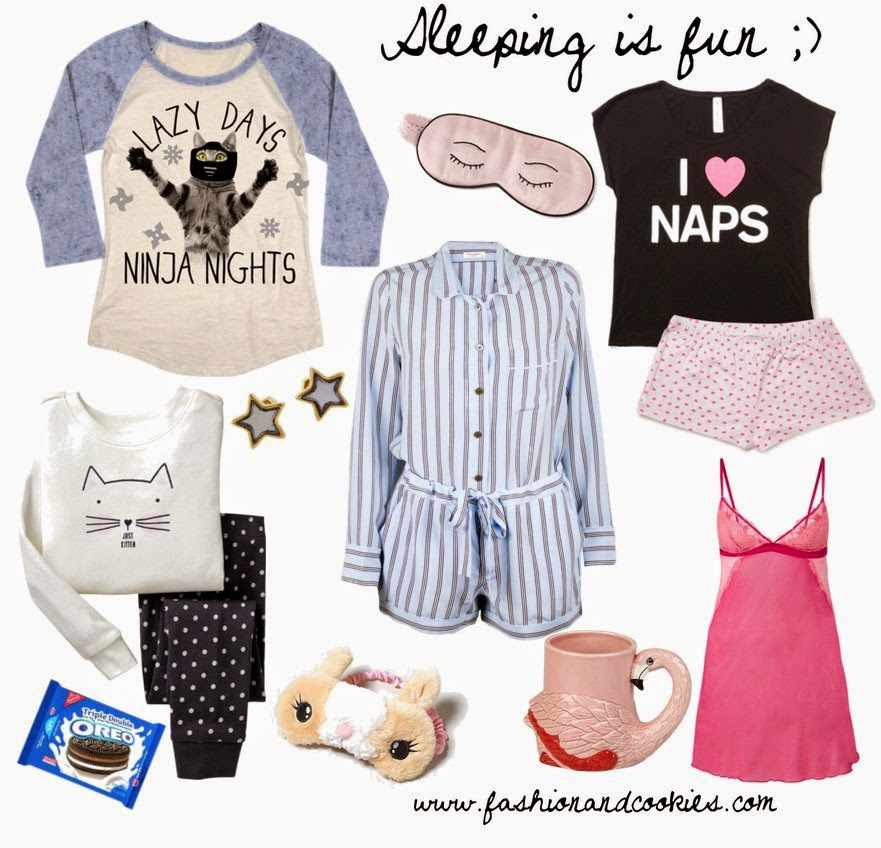 nightwear, fashion nightwear, pyjamas, cute pyjamas, Fashion and Cookies, fashion blog, fashion blogger