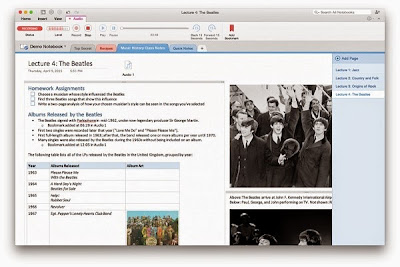 Microsoft updates OneNote for Mac with Audio Recording support and more