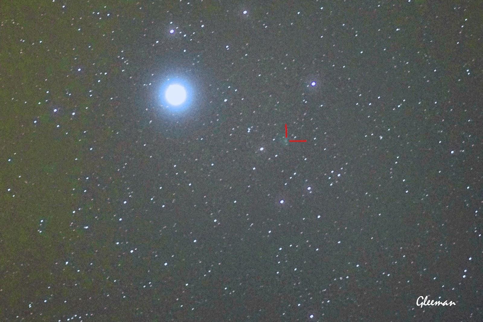 C/2013 UQ4 彗星趴, Pentax K5 + O-GPS1 Astrotracer DA*200 ISO3200 F2.8 單張60s