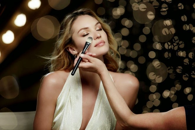 Candice Swanepoel for Max Factor Christmas 2014 Photoshoot
