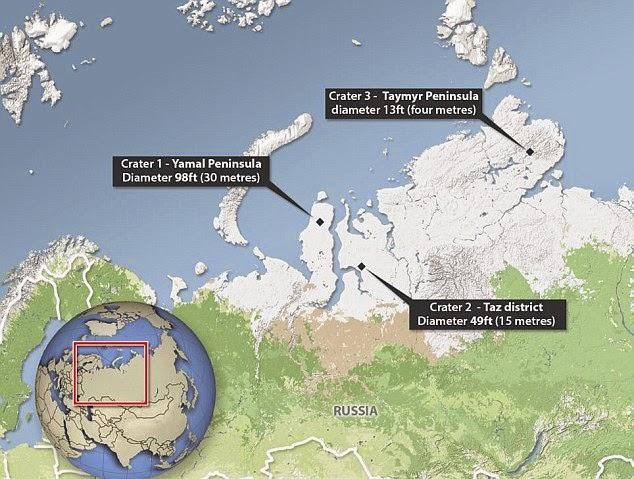 Οι παράξενοι κρατήρες της Σιβηρίας μπορεί να λύσουν το μυστήριο του Τριγώνου των Βερμούδων