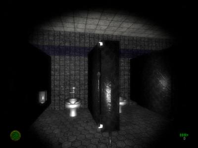 Banheiro de Blame feito no Unity 3D Engine