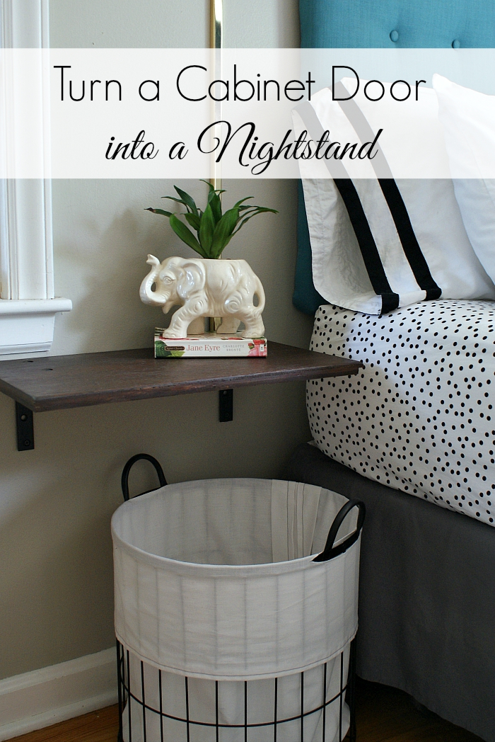 Urban acreage diy floating nightstands for Wall mounted nightstand diy