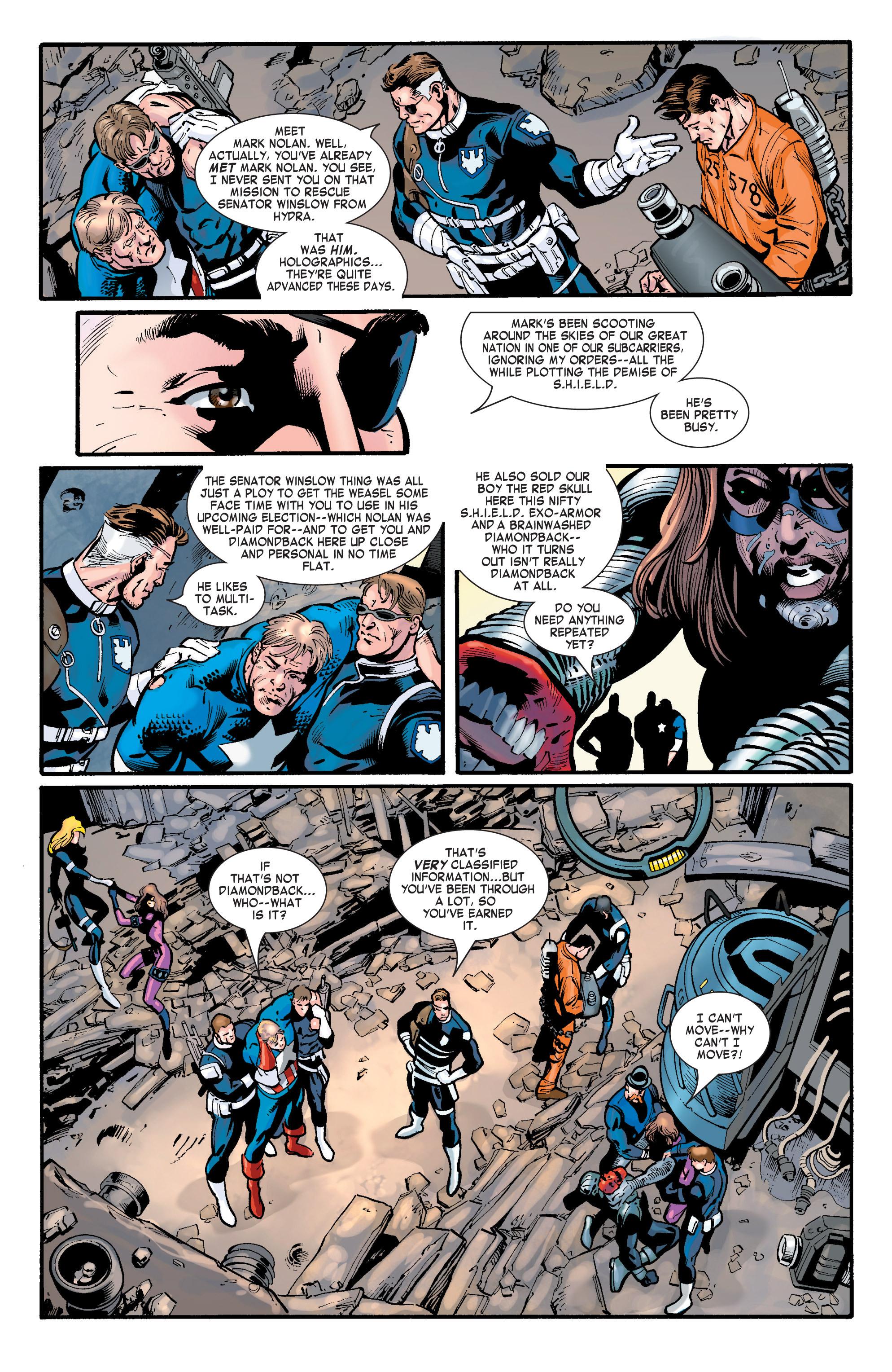 Captain America (2002) Issue #32 #33 - English 21