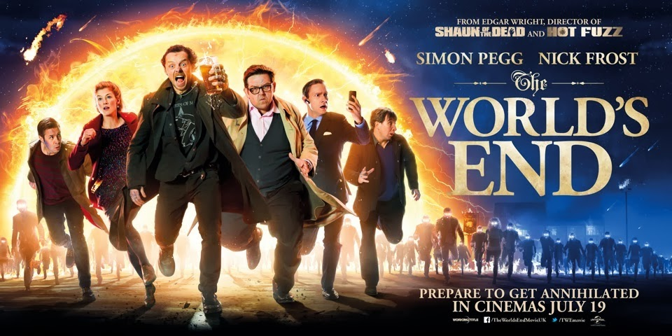 Britisk poster for The World's End