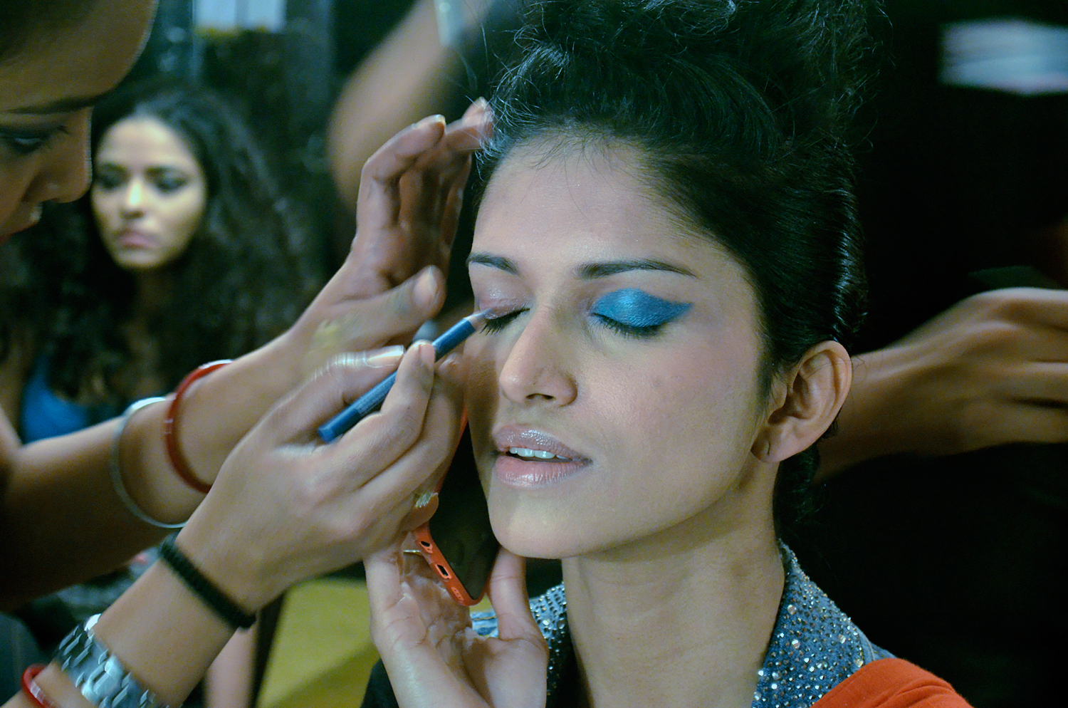 Bengal Fashion Week 2014 - Backstage
