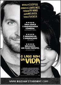 Capa Baixar Filme O Lado Bom da Vida Legendado   2013   DVDRip Torrent Baixaki Download