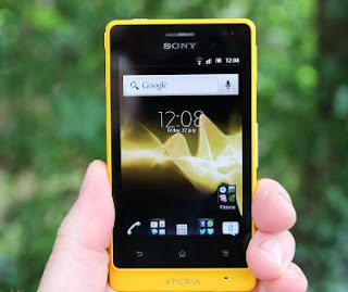 Review Spesifikasi Ponsel Android Sony Xperia Go