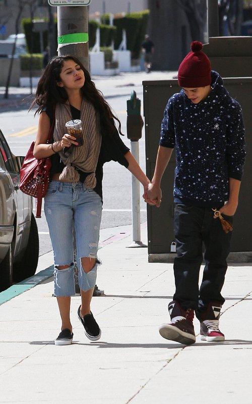 Gambar Justin Bieber dan Selena Gomez