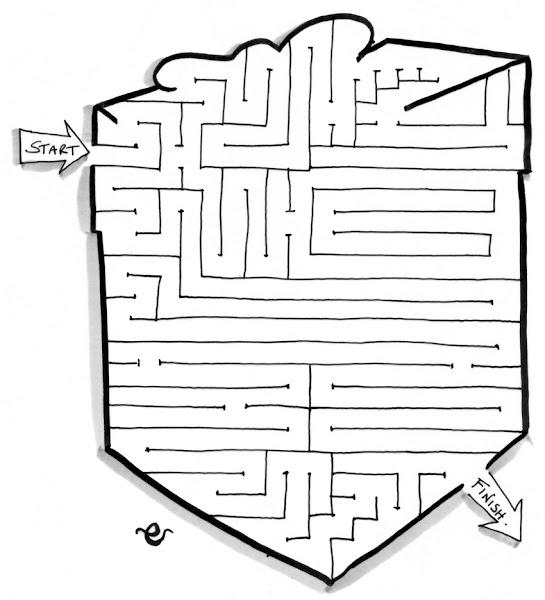 Christmas Maze Activities