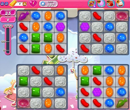 Candy Crush Saga 887