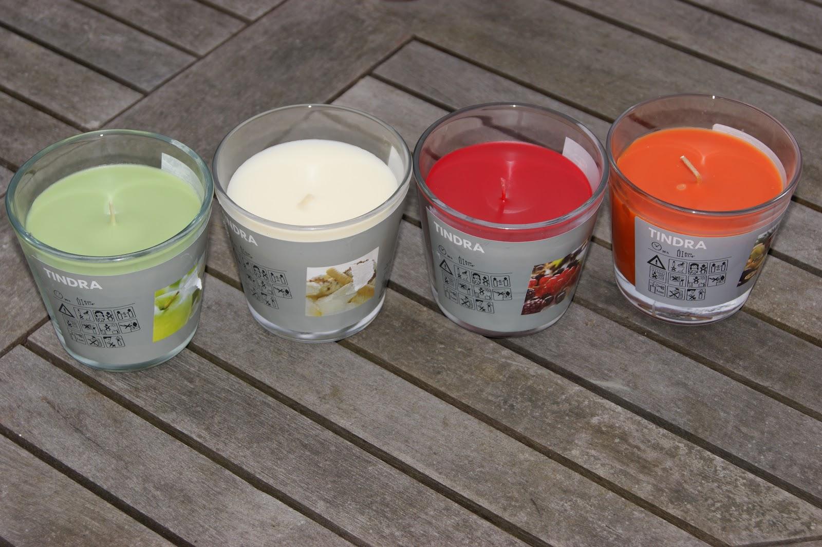 Ikea Tindra Candles The Sunday Girl