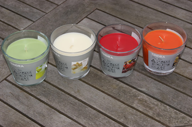 Ikea tindra candles the sunday girl for Stufa candele ikea