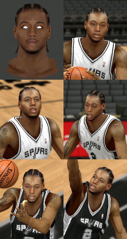 Kawhi Leonard Cornrows NBA2K