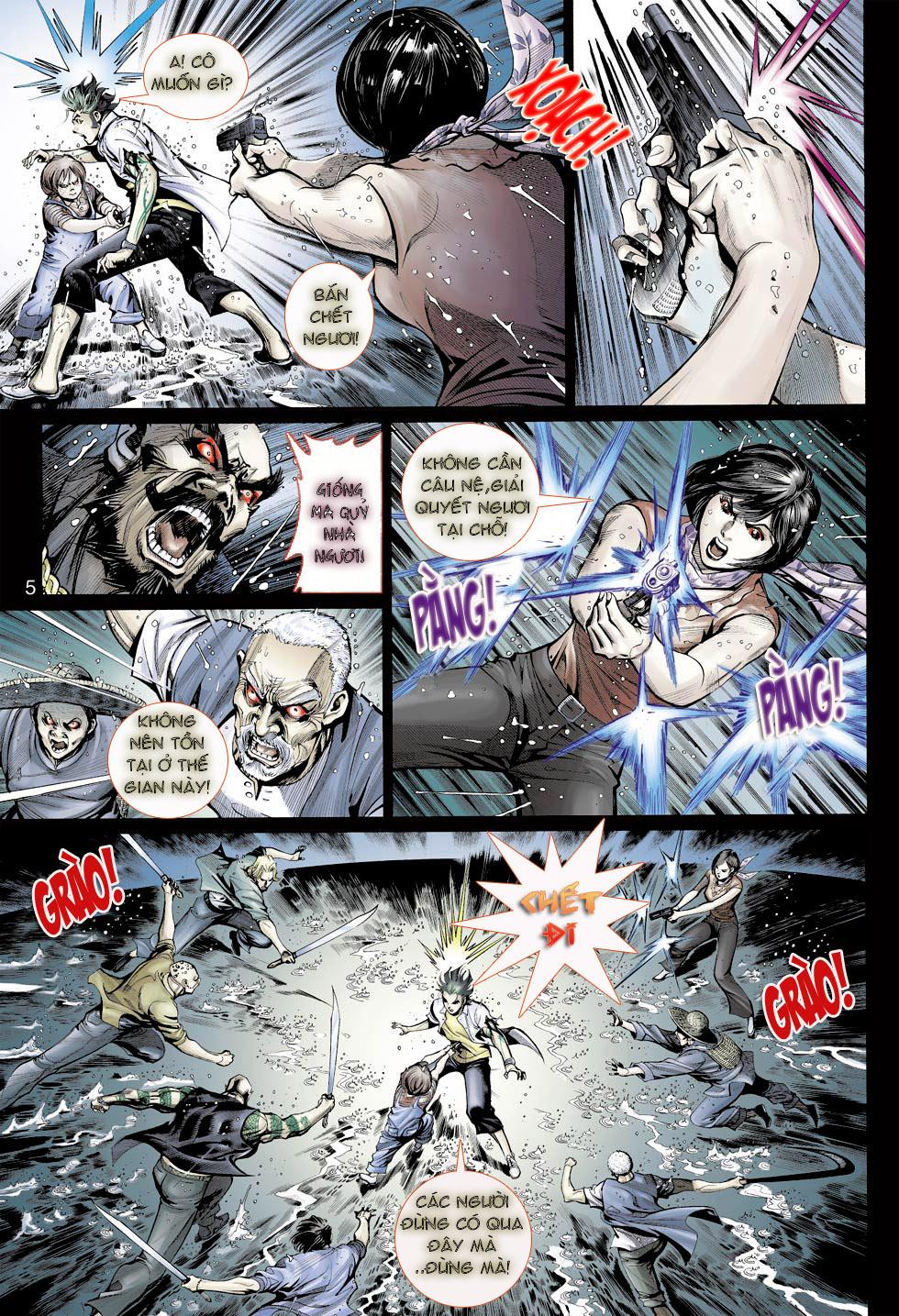 Thần Binh 4 chap 23 - Trang 5