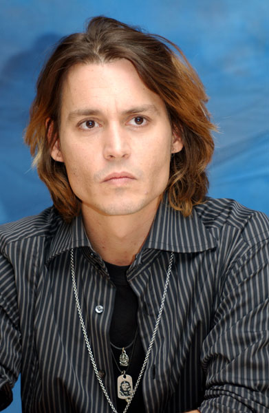 Johnny Depp Hairstyle Picture Gallery