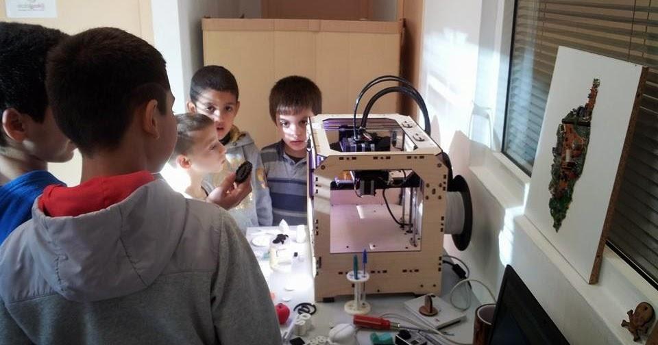 Espace cyber base emploi p m de folelli les enfants - Imprimante 3d enfant ...