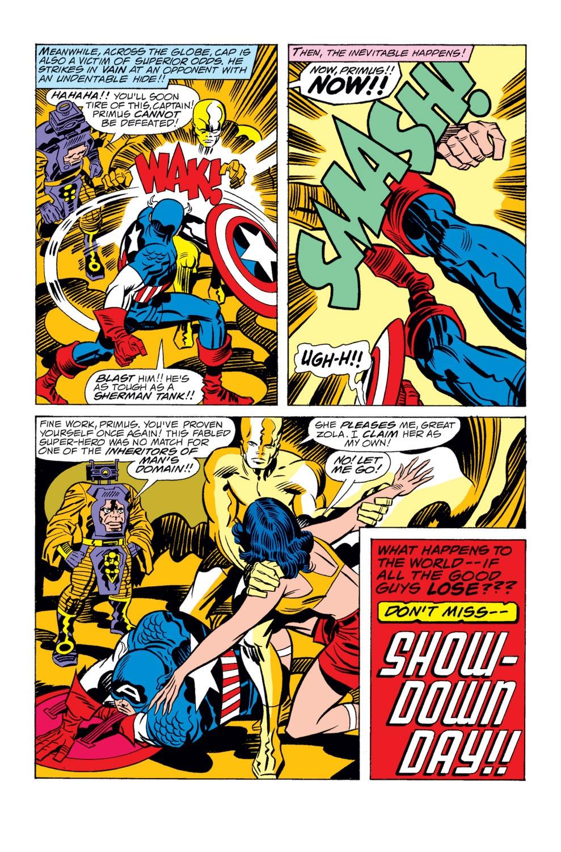 Captain America (1968) Issue #209 #123 - English 17